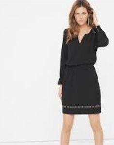 White house black market. Long sleeve boho dress